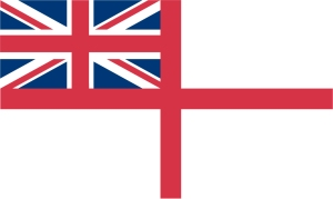 'British' navy flag.